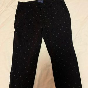Old navy harper pants with anchors